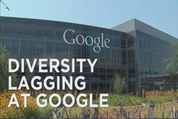 Google still searching for workplace diversity