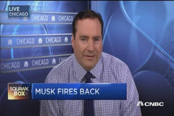 Elon Musk fires back on subsidies