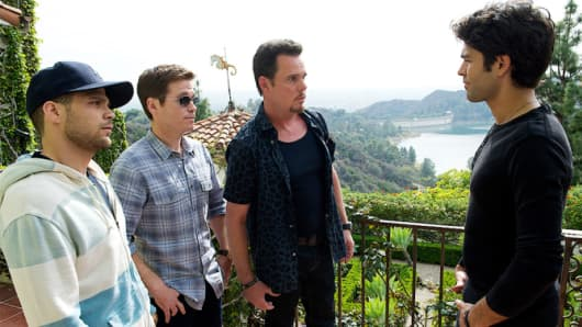 """A scene from the movie """"Entourage"""""""