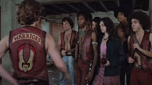 Still from the 1979 film The Warriors.