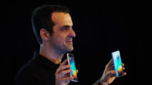 Hugo Barra, vice president of global operations at Xiaomi.