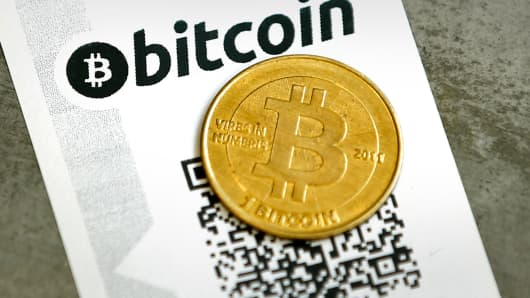 Bitcoin with QR code
