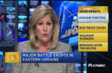 CNBC update: Battle erupts in Ukraine