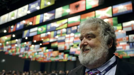 Former FIFA official Chuck Blazer.