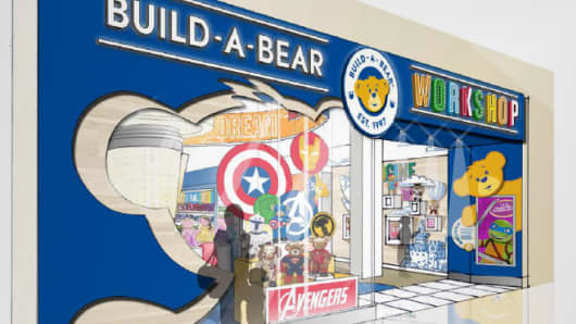 Build-A-Bear Workshop new store design