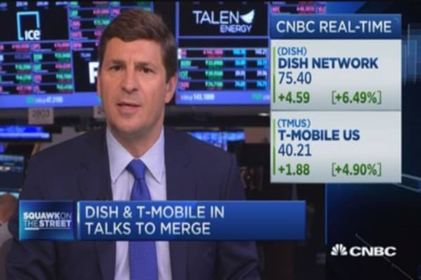 Dish & T-Mobile love affair