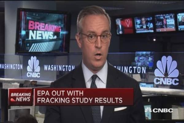 EPA releases fracking study