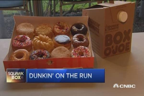 Dunkin' celebrates National Doughnut Day: CEO