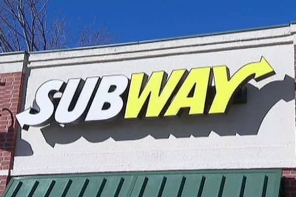 Subway's healthier food train is full steam ahead