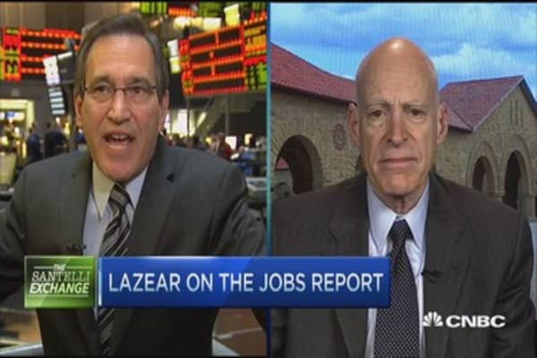 Lazear: Fed should raise rates ASAP