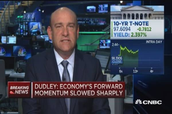 Dudley: Conditions likely for rate hike later this year