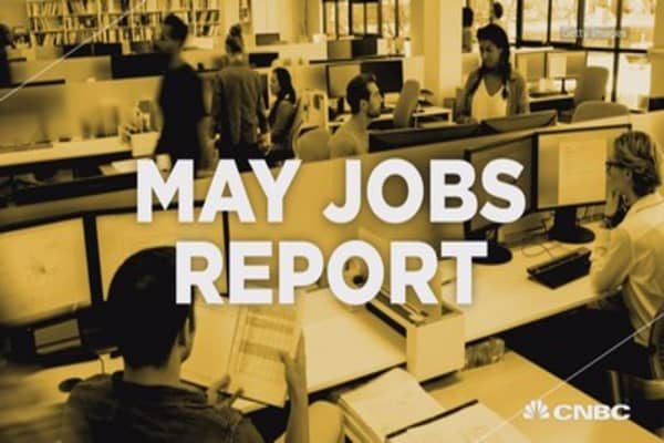 May jobs report by the numbers