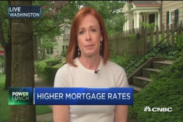 Higher mortgage rates