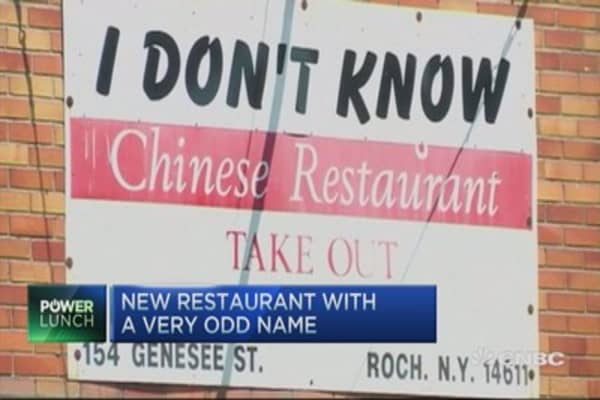 New restaurant opens with unusual name