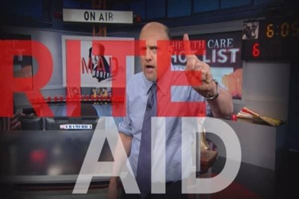 Cramer: When to buy Rite Aid's stock