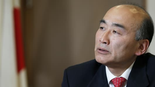 Mitsuhiro Furusawa, International Monetary Fund's deputy managing director.