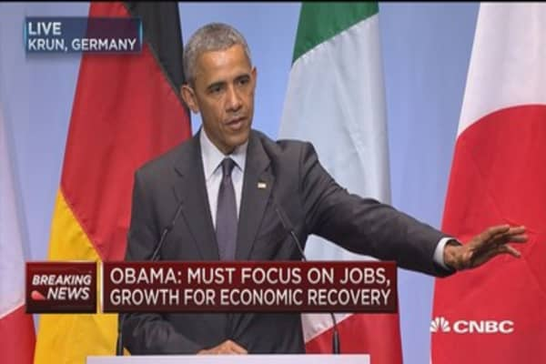 Obama: Important to pass cybersecurity legislation