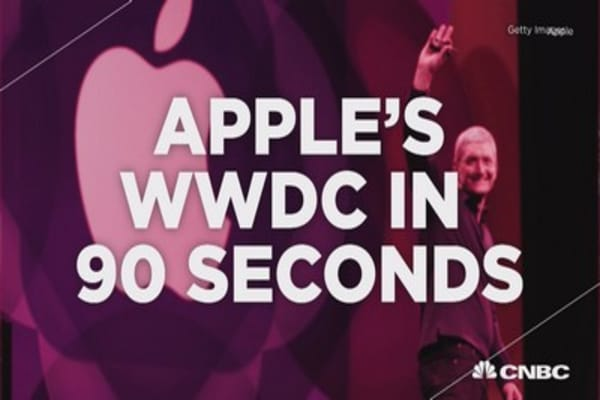Apple's WWDC in 90 seconds