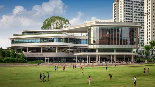 University Town, National University of Singapore.