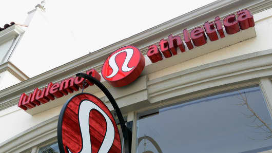 A Lululemon Athletica store in Pasadena, California.