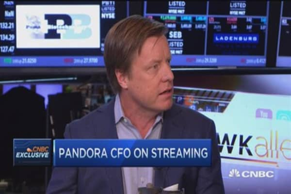 Pandora CFO: Still feel confident as market leader