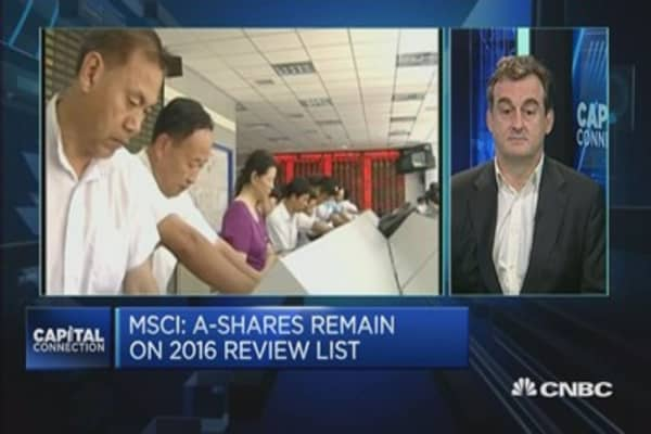 Do Chinese investors care about MSCI exclusion?