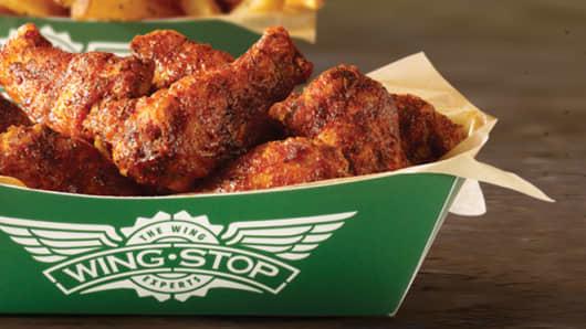 Wingstop chicken wings