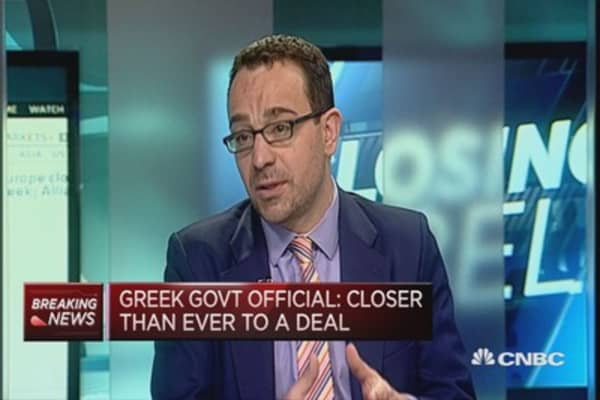 Is Greece close to a deal?