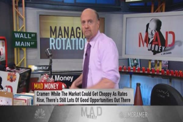 Cramer: Companies that benefit from higher rates