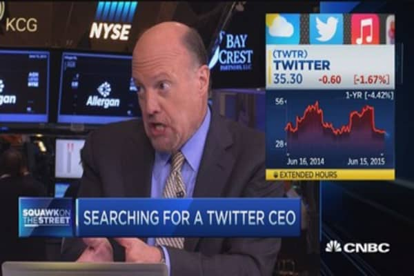 Cramer: Twitter has no plan and that's bad