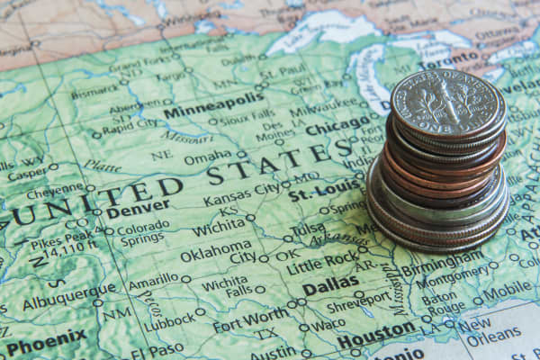 Top States Cheapest States