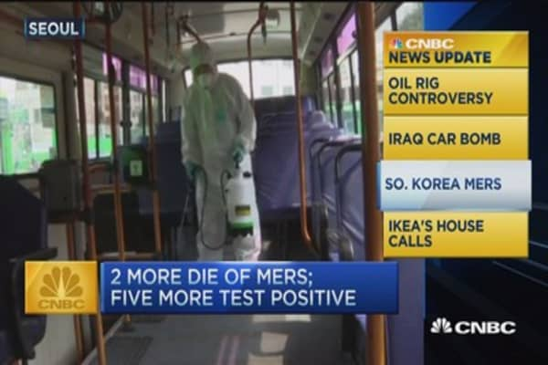 CNBC update: Mers virus death toll rises