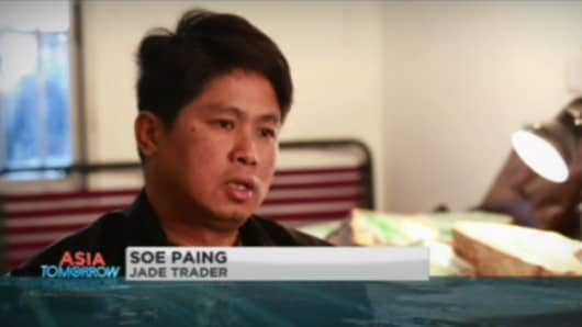 Jade trader, Soe Paing.