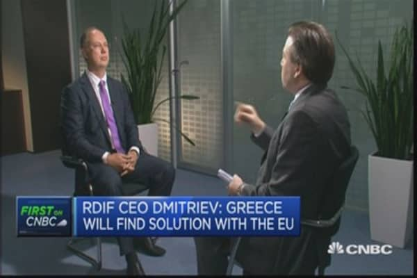 Greece will find solution with EU: RDIF CEO