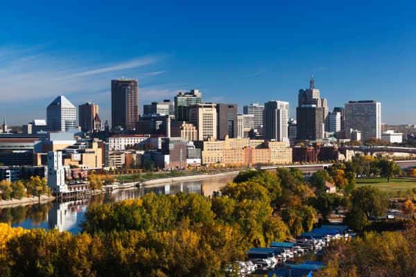 Minneapolis, St. Paul Minnesota.