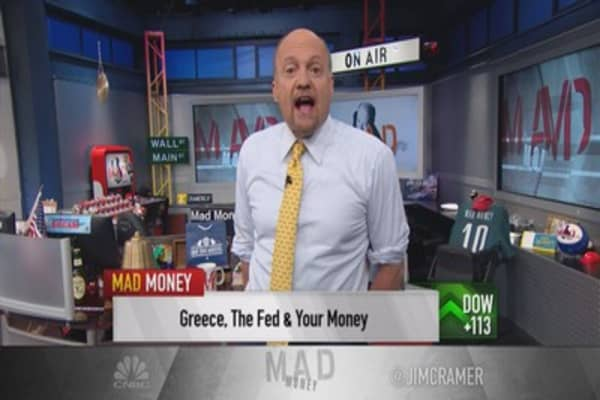 Cramer dreams of takeovers