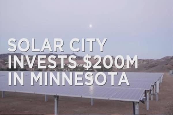 SolarCity brings solar gardens in Minnesota