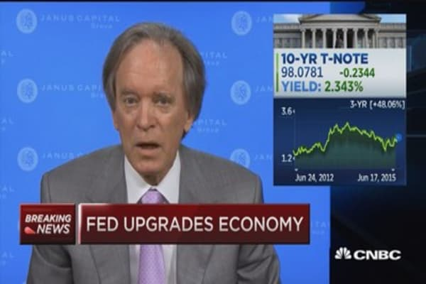 Mexico's a great bet, Janus is having a good day: Gross
