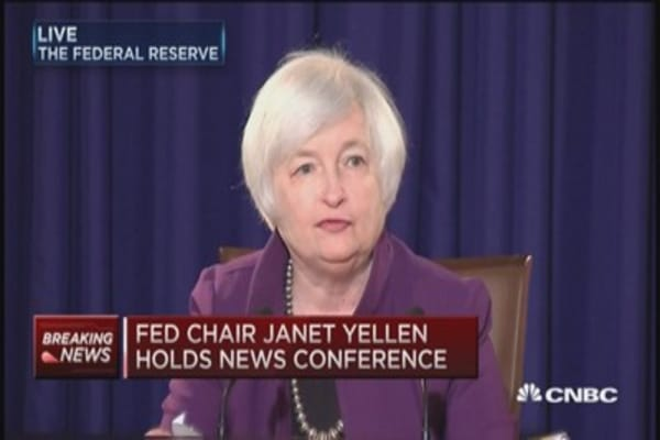 Yellen: Economy not ready for rate hike