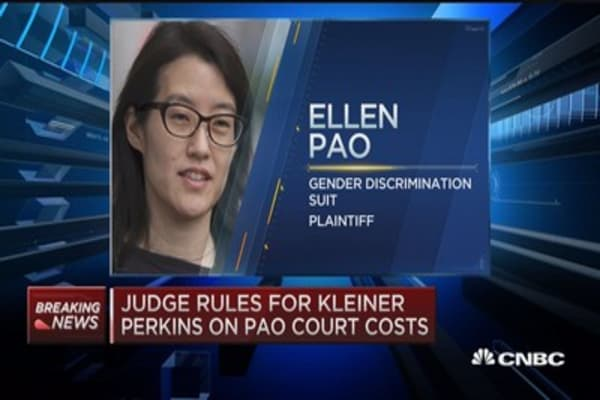 Judge rules for Kleiner Perkins on Pao court costs