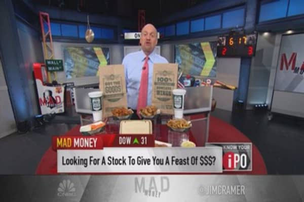 WING too spicy for Cramer's taste