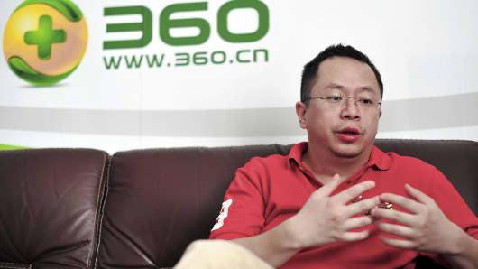 Zhou Hongyi, Chairman and CEO of Qihoo 360.