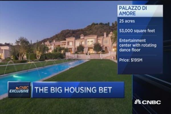 $195 million housing bet