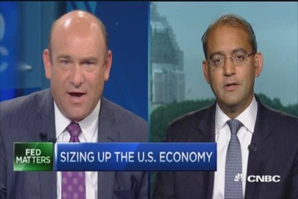 Sizing up the US economy