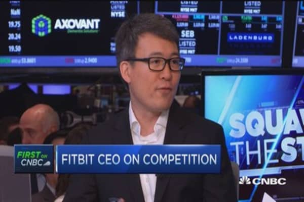 Fitbit CEO: We're more than just wearables