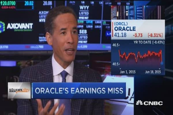 Oracle's earning miss: Infor CEO