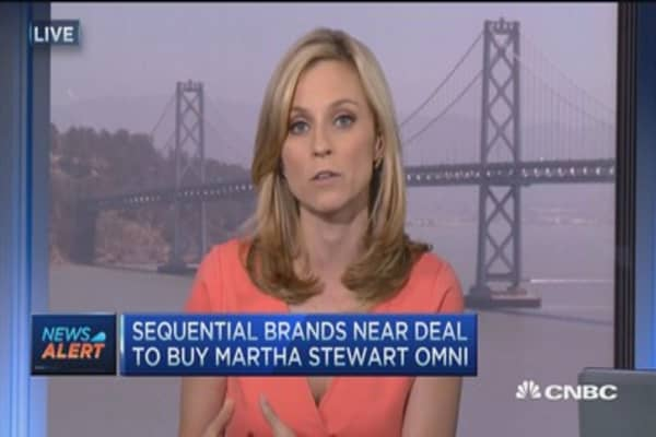 Sequential Brands near deal to buy Martha Stewart Omni