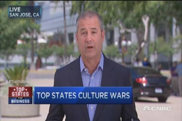Top states culture wars