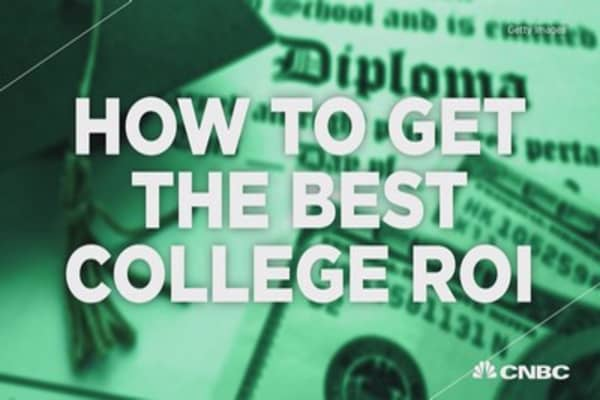 How to get the best college ROI