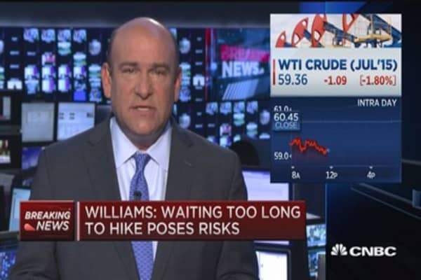 2015 will be the year for liftoff: Williams